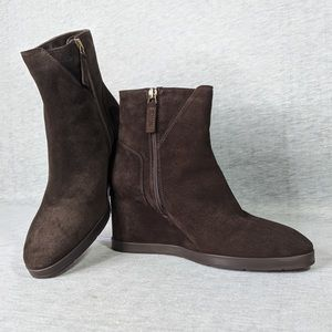 Aquatalia Judy Wedge Booties